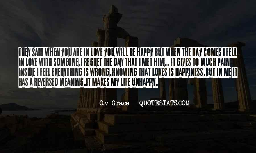 Quotes About Regret Love #451361