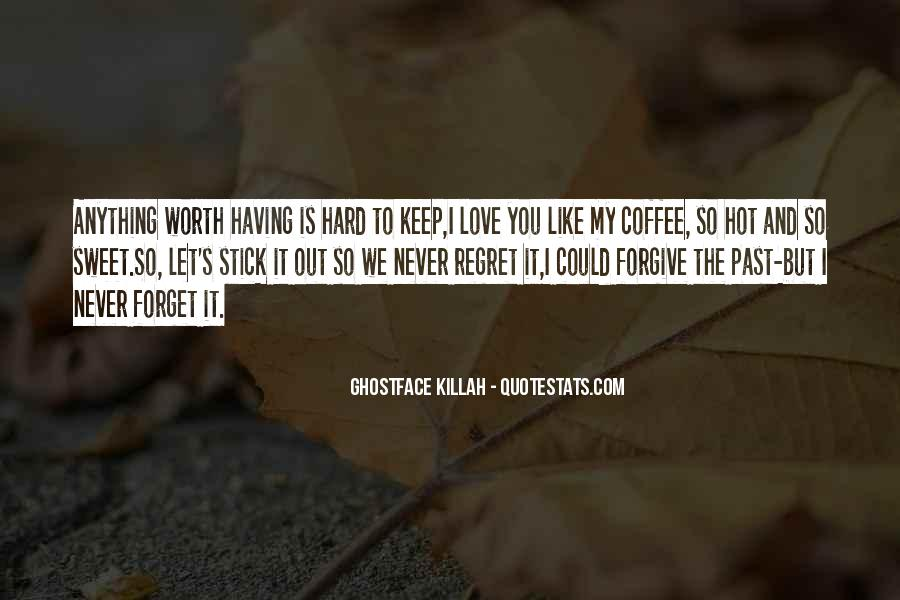 Quotes About Regret Love #452417