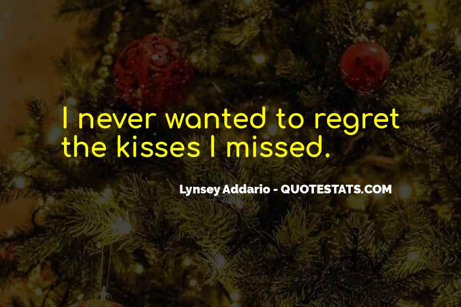 Quotes About Regret Love #497202