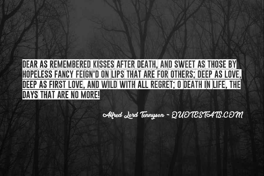 Quotes About Regret Love #506829