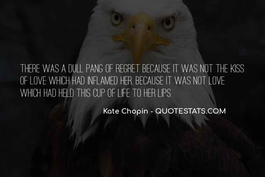 Quotes About Regret Love #522815