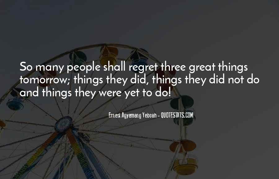 Quotes About Regret Love #563251