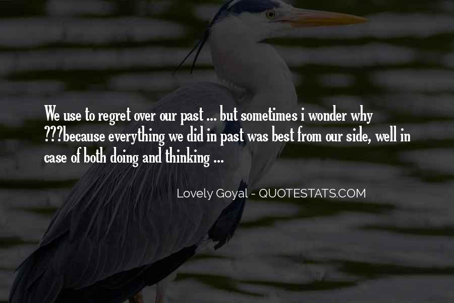 Quotes About Regret Love #602611