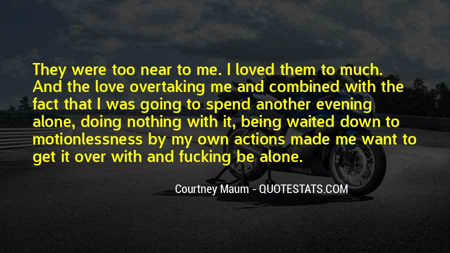 Quotes About Regret Love #612824