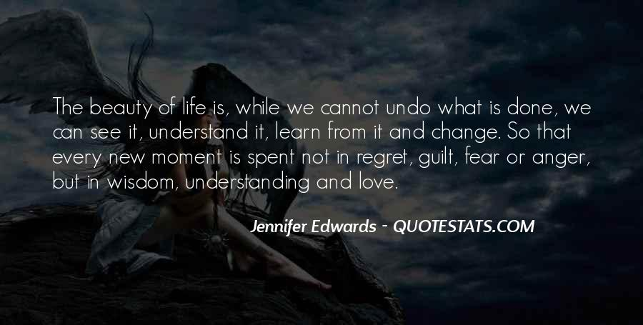 Quotes About Regret Love #8331