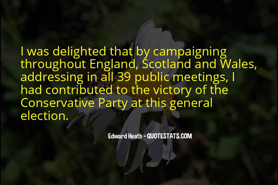 Quotes About Victory In Election #1618523
