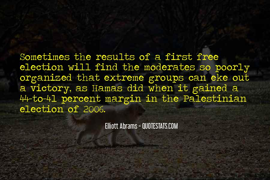 Quotes About Victory In Election #990429