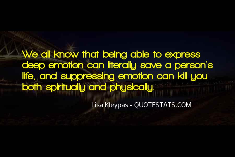 Quotes About Not Being Able To Express Yourself #572049