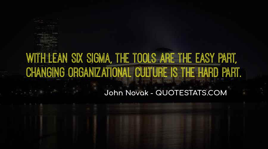 Quotes About Organizational Culture #1040244