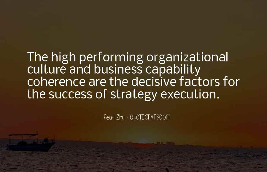 Quotes About Organizational Culture #294485
