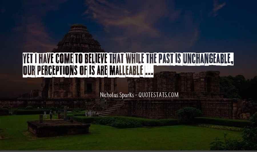 Quotes About Change Nicholas Sparks #1098691