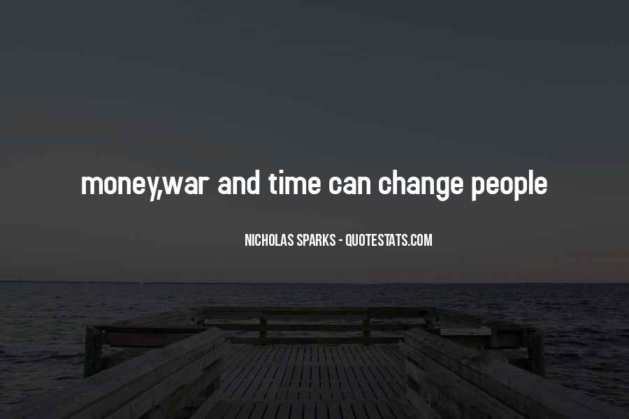 Quotes About Change Nicholas Sparks #1119933