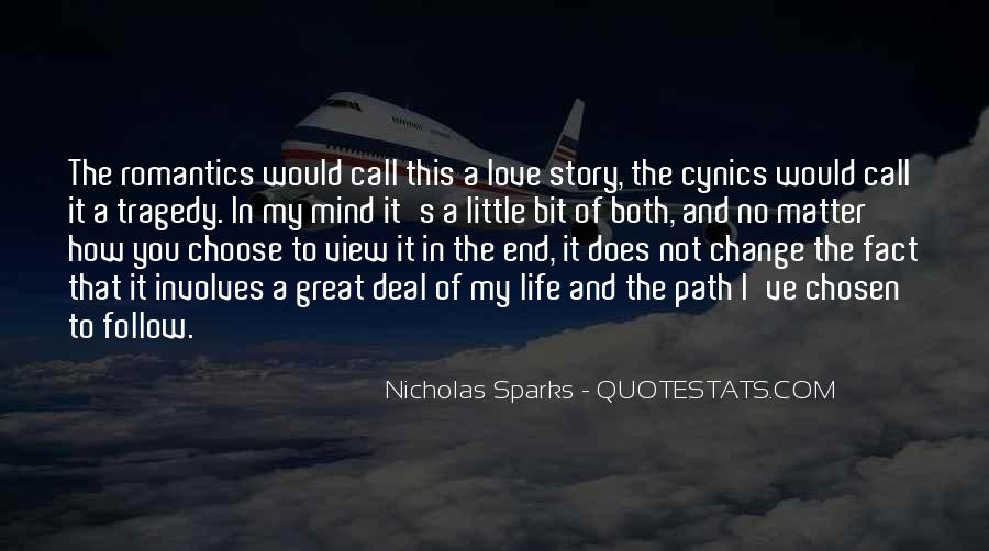 Quotes About Change Nicholas Sparks #1846919