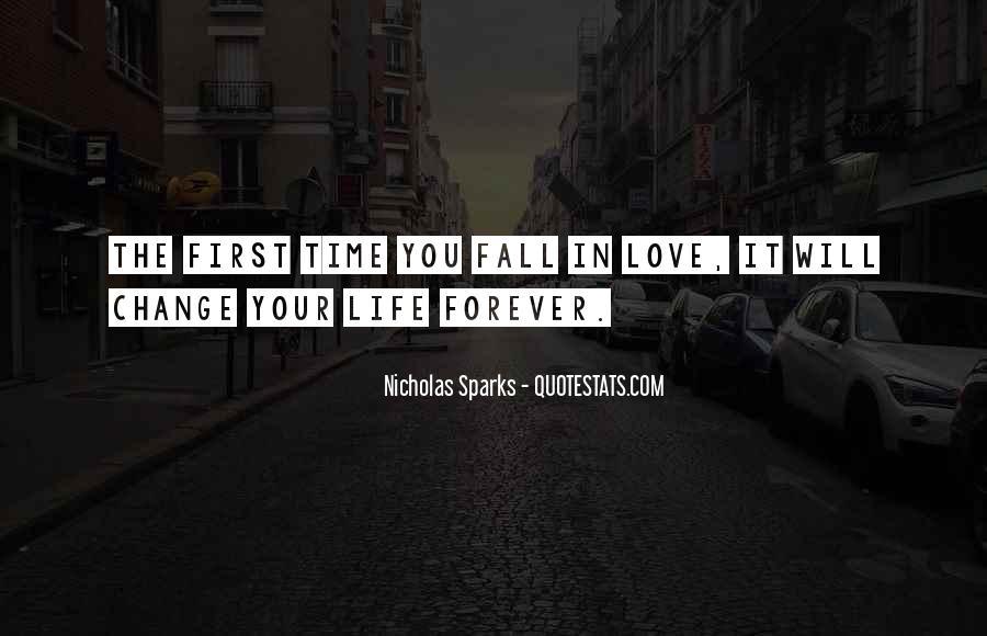 Quotes About Change Nicholas Sparks #743185
