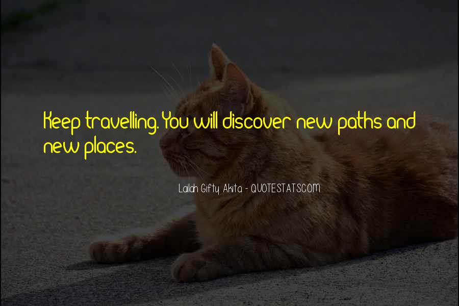 Quotes About Travelling Life #32186