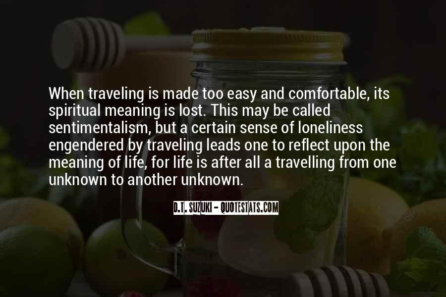 Quotes About Travelling Life #704385