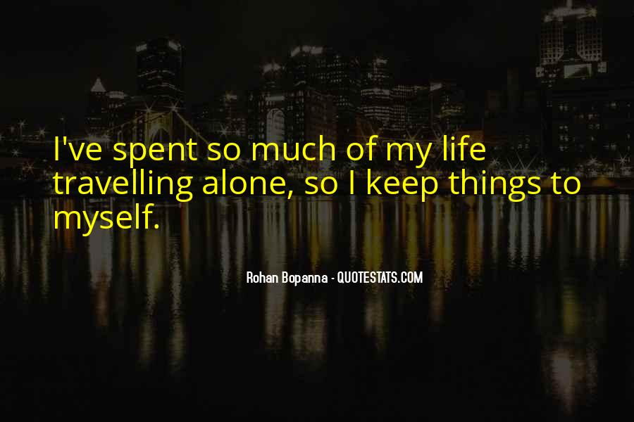 Quotes About Travelling Life #854388