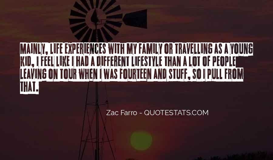 Quotes About Travelling Life #92175