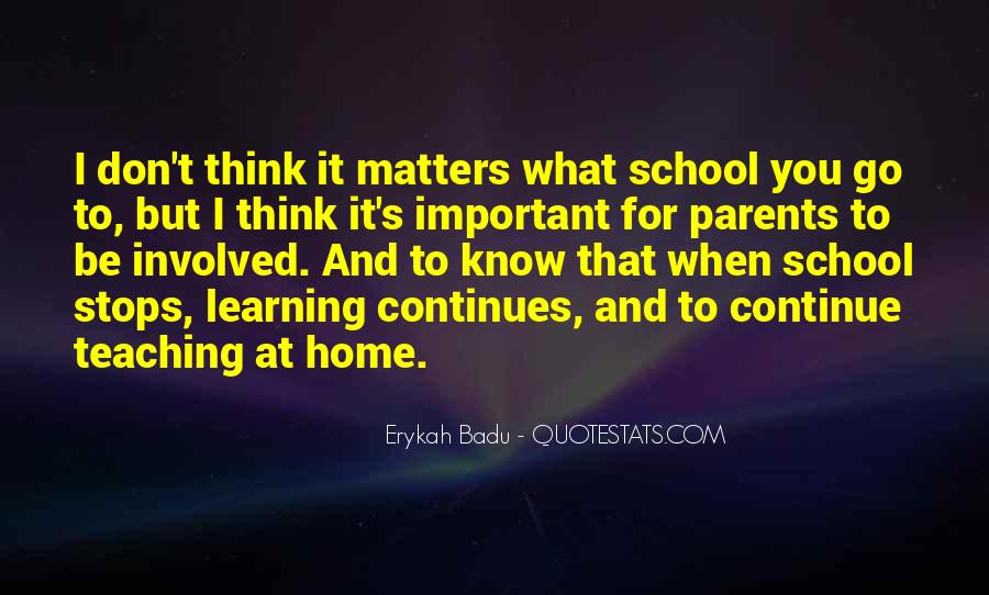 Quotes About Over Involved Parents #27546
