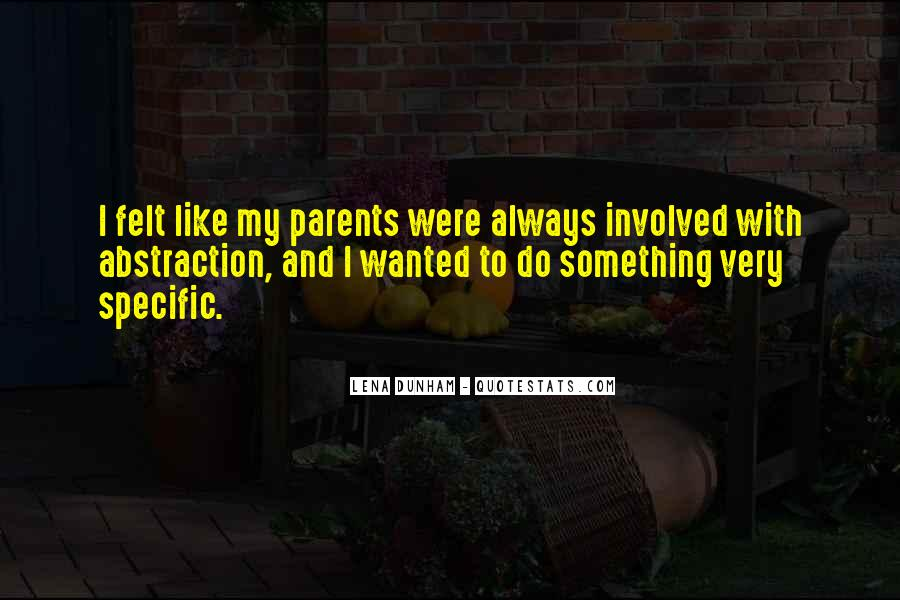 Quotes About Over Involved Parents #67704