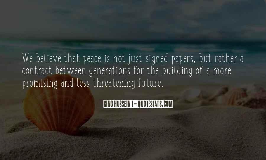 Quotes About Building A Future #1624368