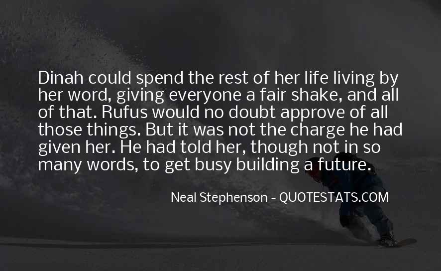 Quotes About Building A Future #797720