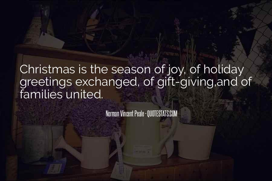 Quotes About Season Of Giving #1338026