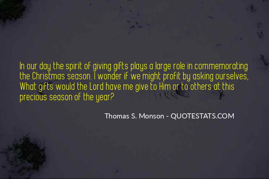 Quotes About Season Of Giving #1733625