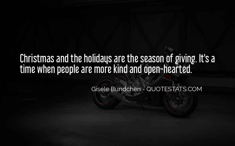 Quotes About Season Of Giving #404804