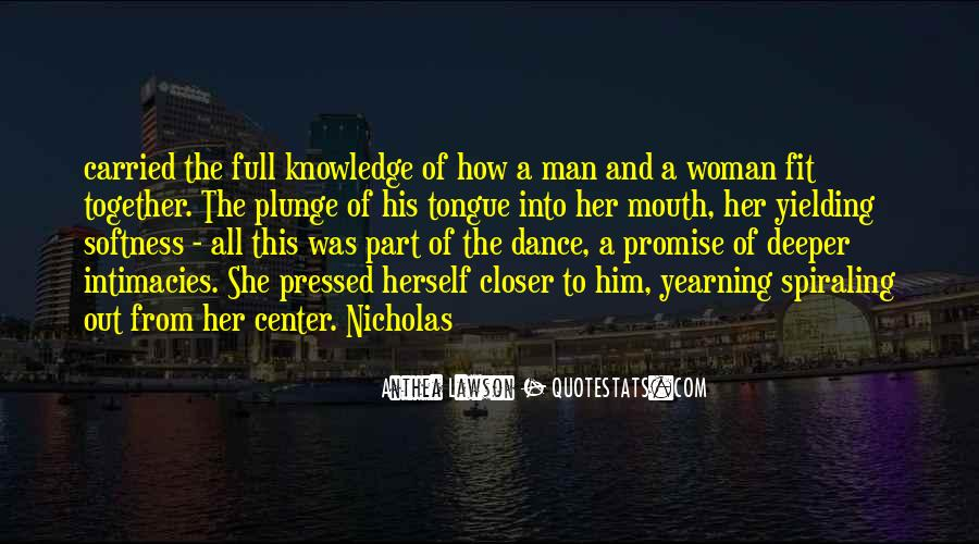 Quotes About Yearning For Knowledge #813908