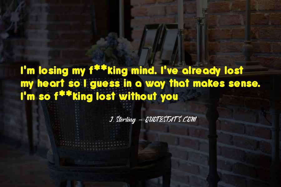 Quotes About Losing My Way #1415793