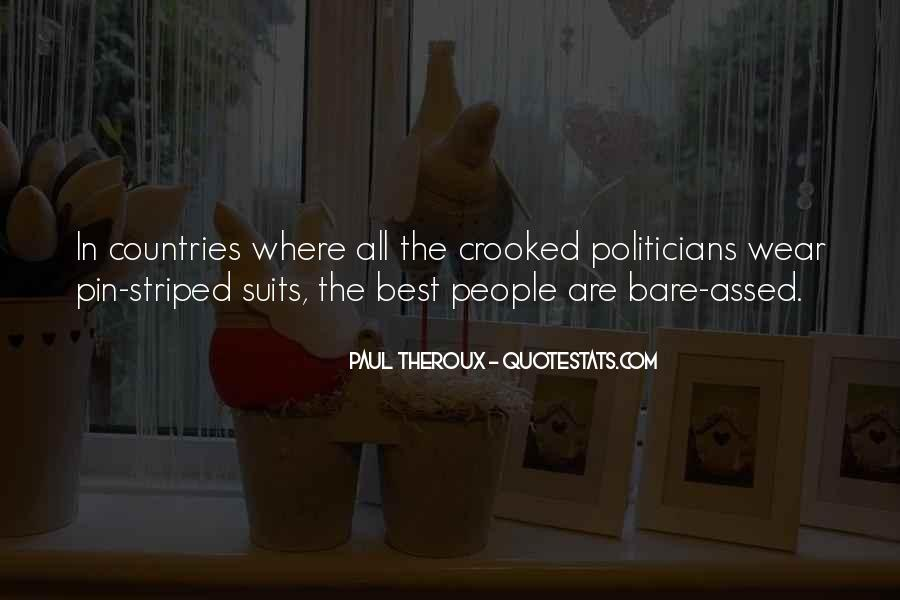 Quotes About Crooked Politicians #985173