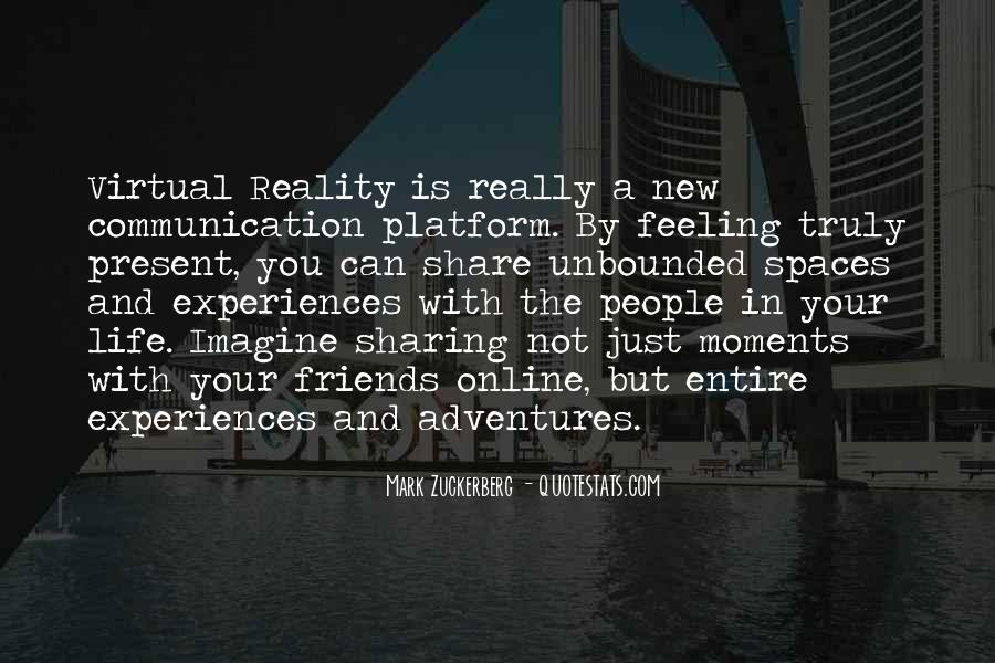 Quotes About Virtual Communication #493916