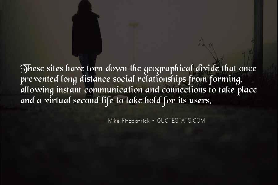 Quotes About Virtual Communication #794614