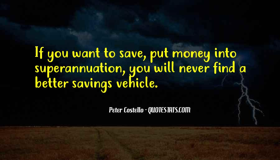 Quotes About How To Save Money #122685