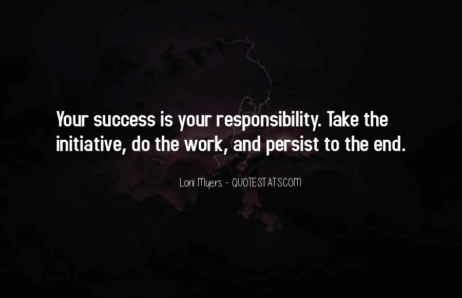 Quotes About Initiative And Success #1797170