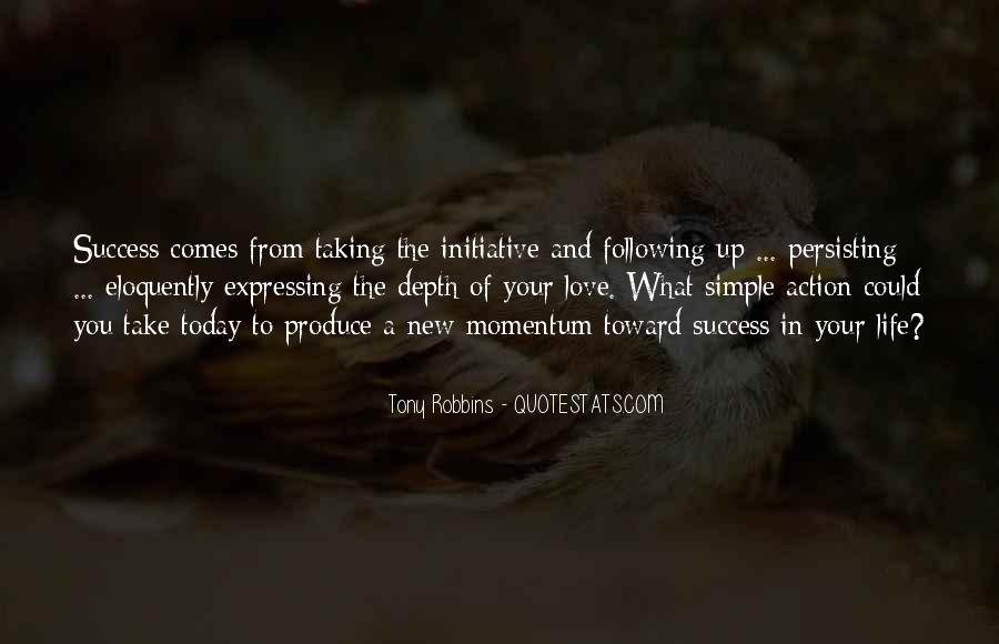 Quotes About Initiative And Success #39030