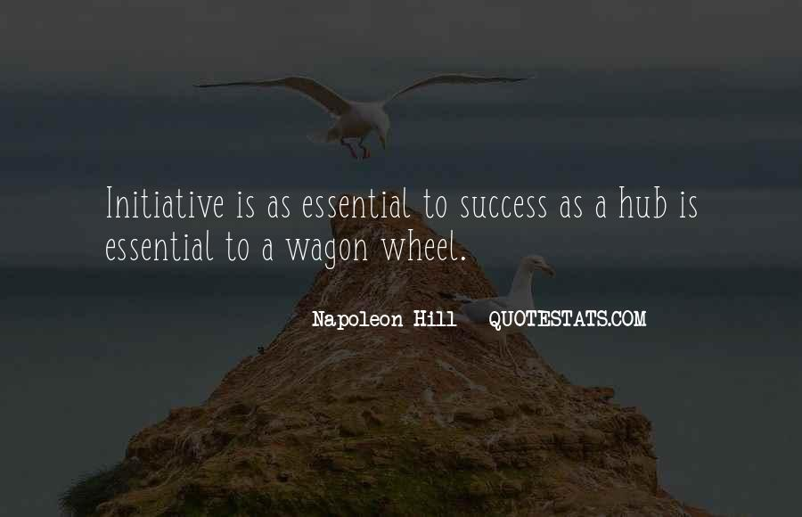 Quotes About Initiative And Success #747426