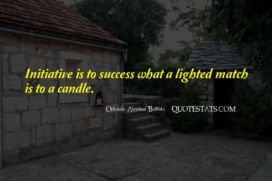 Quotes About Initiative And Success #950603