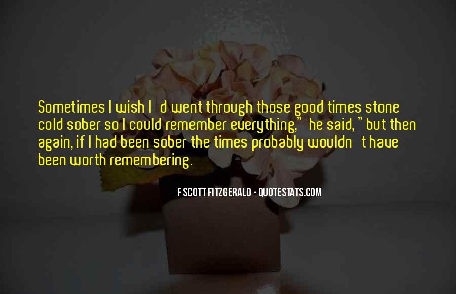 Quotes About Good Times #139848