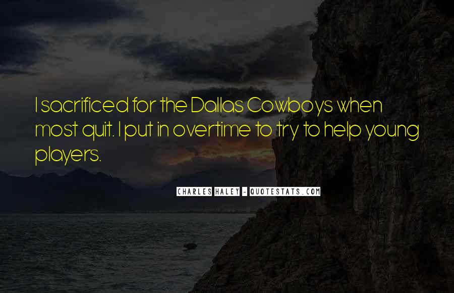 Quotes About Young Cowboys #1822011