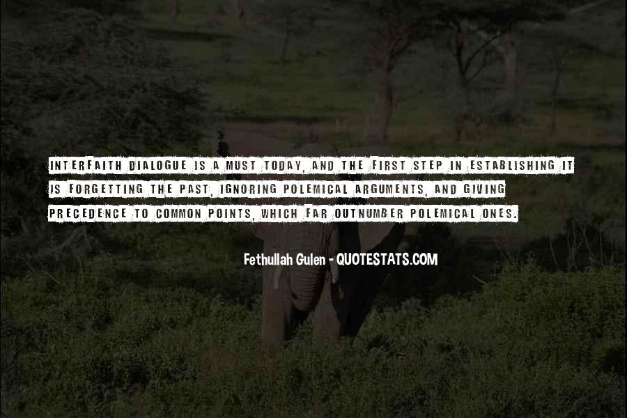 Quotes About Interfaith Dialogue #1260802
