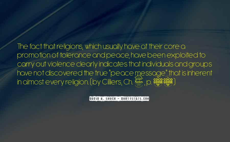 Quotes About Interfaith Dialogue #1699645