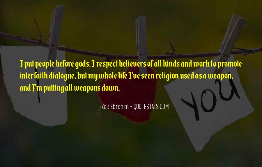Quotes About Interfaith Dialogue #338507