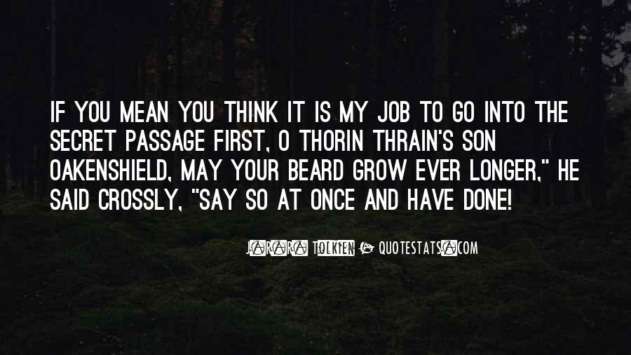Quotes About Thorin Oakenshield #1289210