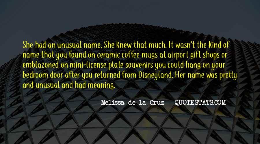 Quotes About The Name Melissa #858582