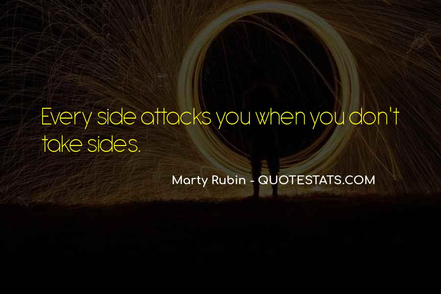 Quotes About Taking Sides #1081696