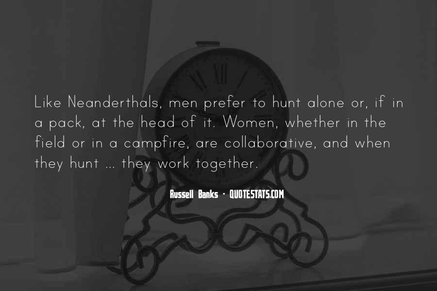 Quotes About Neanderthals #1745299