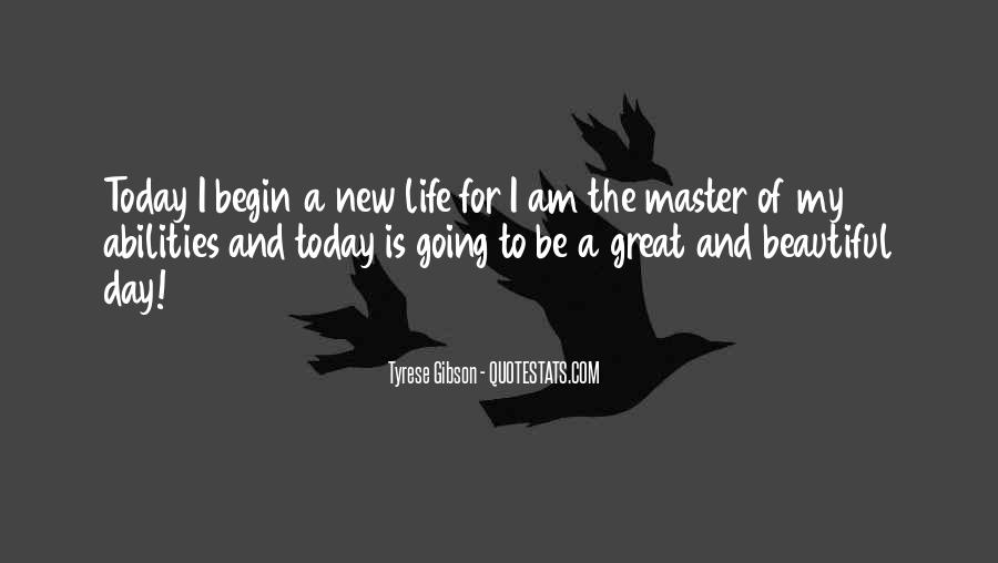 Quotes About Today Is A New Day #1128306