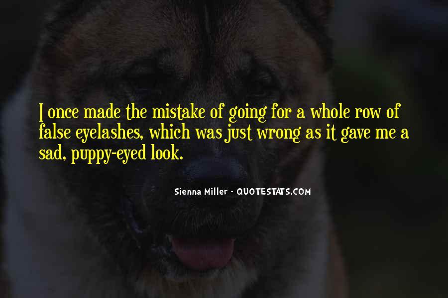 Quotes About False Eyelashes #60627